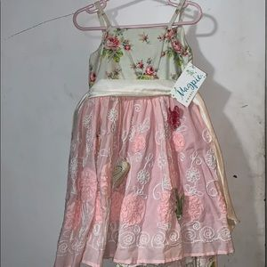 Magpie & Mabel butterfly dress 3t
